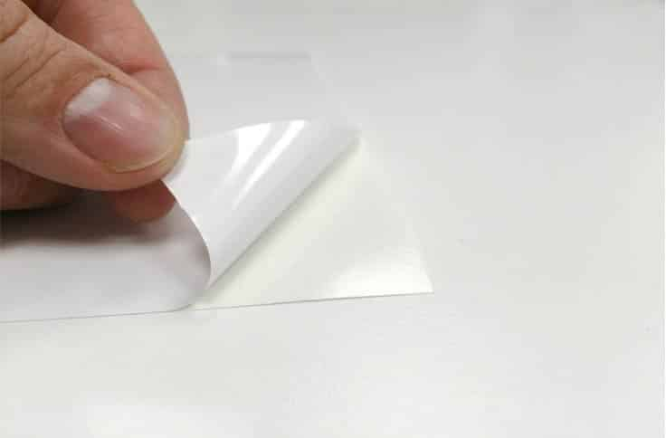 BASIC WHITE SELF-ADHESIVE VINYL