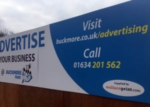 Digital Print Foamex Signs Buckmore Park Medway Kent - CS
