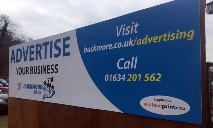Digital-Print-Foamex-Signs-Buckmore-Park-Medway-Kent-CS Printed Signage