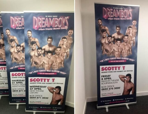 Roller Banners 850mm Raptors UK