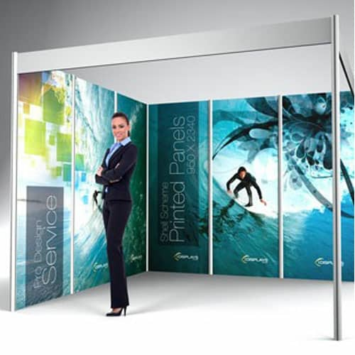 Exhibition Stand Wall Panels : Exhibition stand wall panels printed on rigid mm foamex