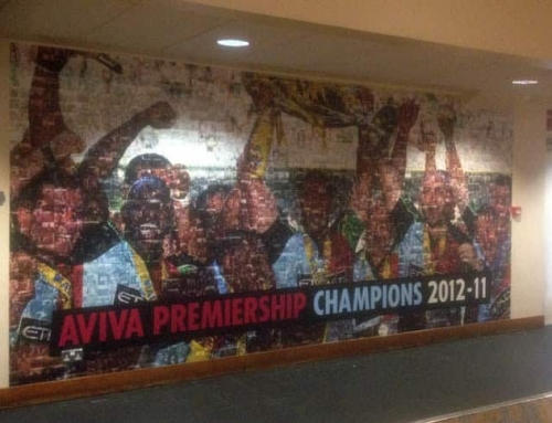Harlequins Stadium Wall Graphics
