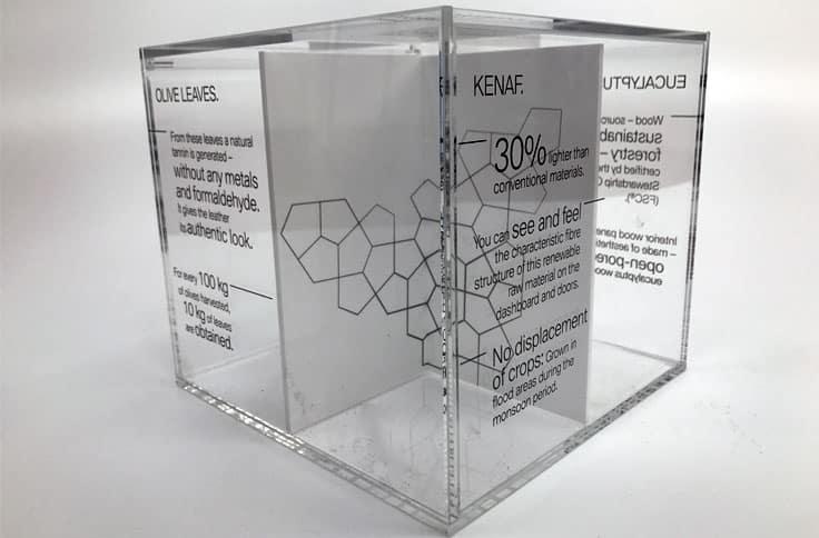 Screen Print Acrylic Cubes Kent Wallace Print Large
