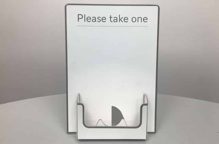 twist-lock-leaflet-dispenser-please-take-one