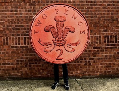 20mm Foamex 2p Coin