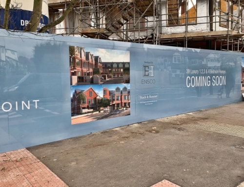 New Homes Site Hoarding Graphics