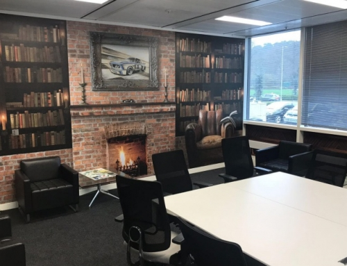 Boardroom Graphics & Meeting Rooms