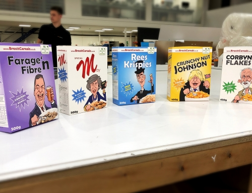 Brexit Cereal Boxes Folding Box Board