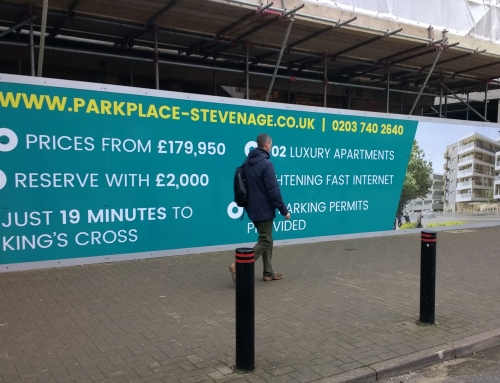 Letting Agency Hoarding Graphics